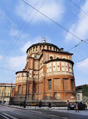 Convent of Santa Maria della Grazie, Milan, Lombardy, Italy
