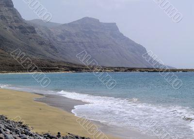 Famara Cliffs on Lanzarote