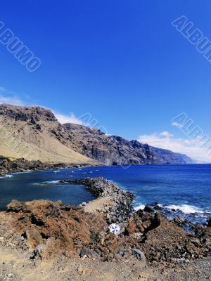 The Giants Cliffs on Tenerife