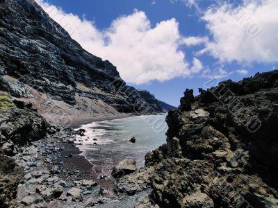 Playa del Verodal on Hierro