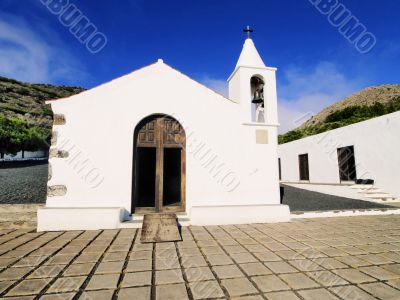 Kings` chapel on Hierro