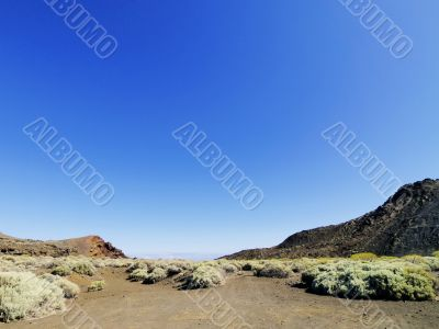 Landscape of Hierro, Canary Islands