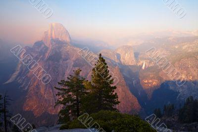 Half Dome at Sunset, Yosemite Valley