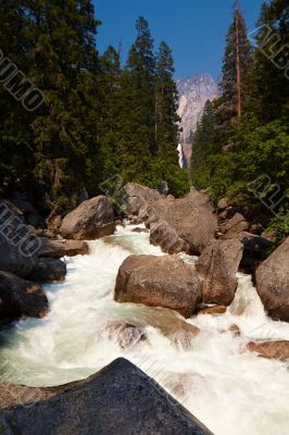 Stream in Yosemite Valley