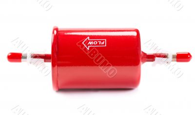 New red car fuel filter
