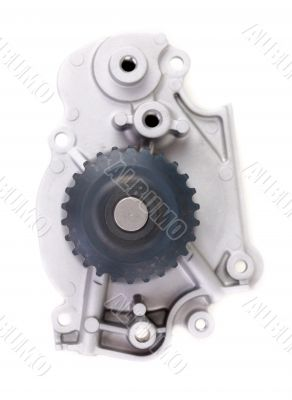 water pump. Isolated on white with clipping path