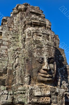 Angkor Face, Angkor Thom, Cambodia
