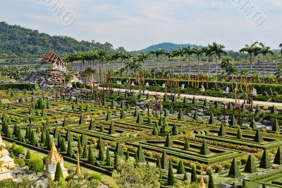 Nongnooch Tropical Botanical Gardenc