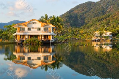 Exotic place in island Koh Chang