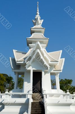 Thai temple in chiangmai,Thailand