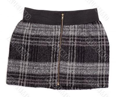 Women`s plaid skirt