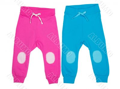 children`s sports trousers