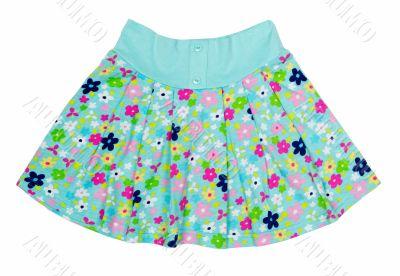 Children`s summer skirt