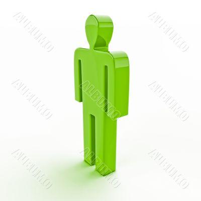 3d human figure