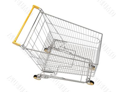 Shopping carts isolated