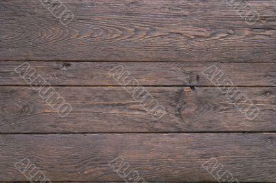 Old dark noble wood