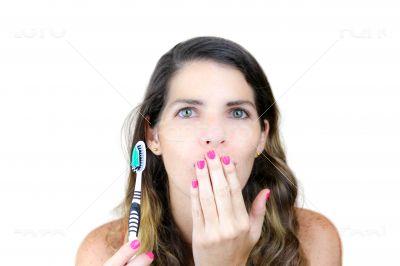 Forgot to brush my teeth