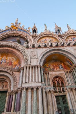 Venice Italy San marco Basilica church