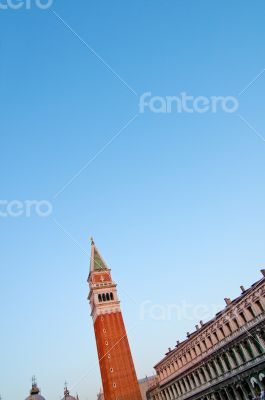 Venice Italy Saint Marco square view