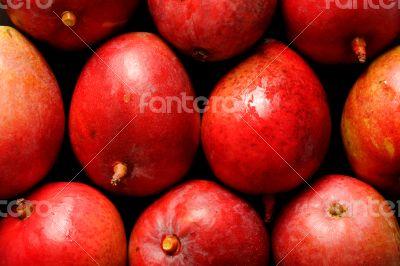 Ripe and juicy mango backgrounds