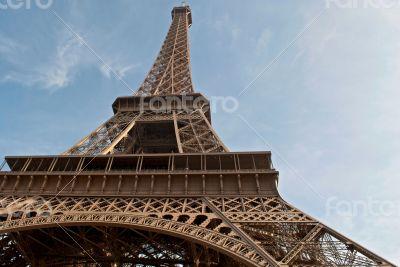 Terrace Eiffel Tower.