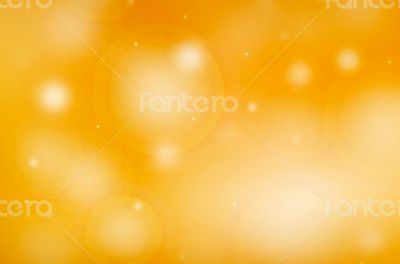 Yellow and Gold Light Flare Background
