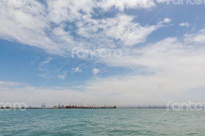 Ships on Djibouti port