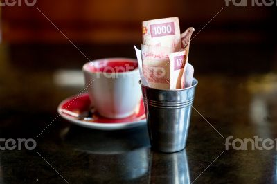 Expensive coffee or cheap money