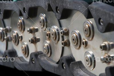 Steel link Chain Conveyor System