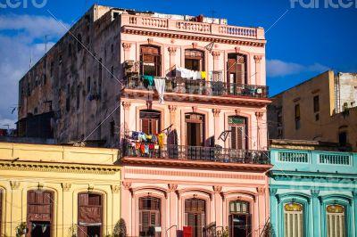Caribbean Cuba Havana Buildings
