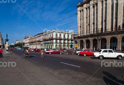 Cuba Havana Main street - Boulevard