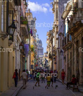Caribbean Cuba Havana street life