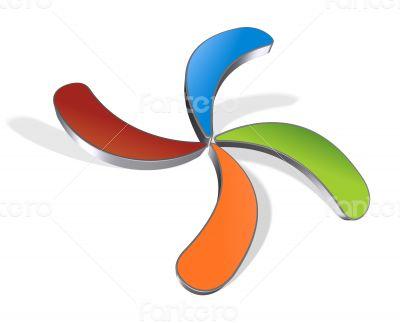 Abstarct logo branding design