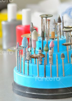 dental technician`s tools