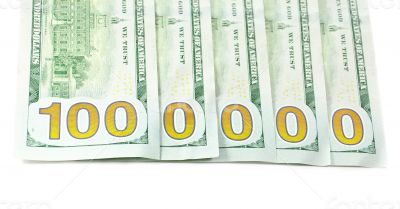 New 100 usd cash
