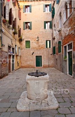 Venice Italy unusual scenic view