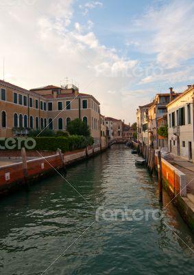 Venice Italy unusual pittoresque view
