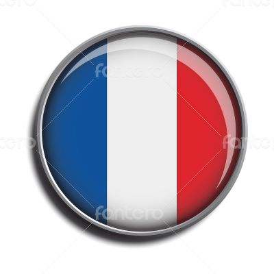 flag icon web button france