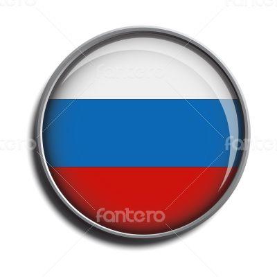flag icon web button russia