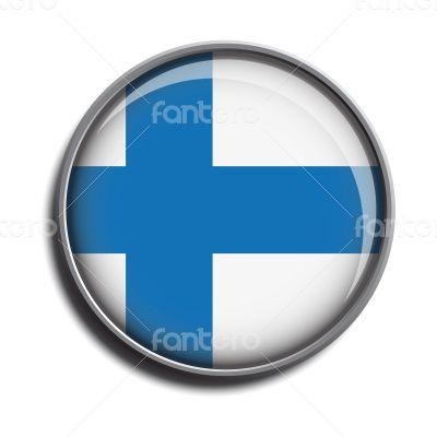 flag icon web button finland