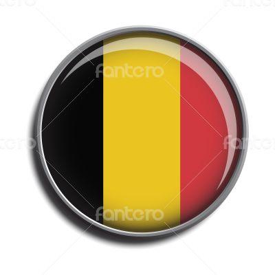 flag icon web button belgium