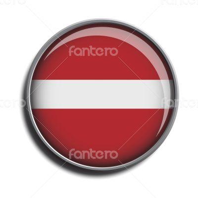 flag icon web button latvia