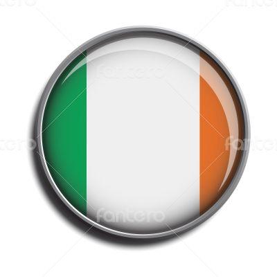 flag icon web button ireland