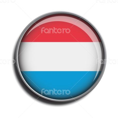 flag icon web button luxembourg