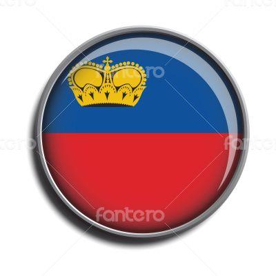flag icon web button liechtenstein