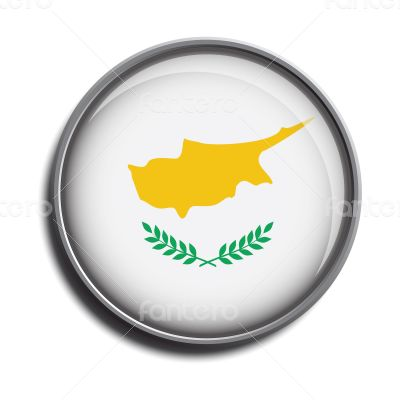 flag icon web button cyprus