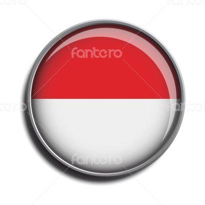 flag icon web button monaco