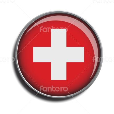 flag icon web button switzerland