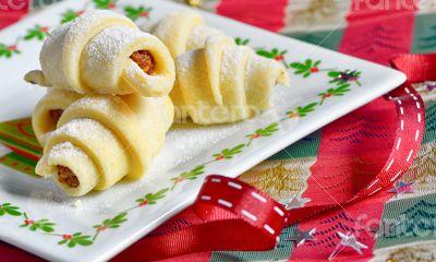 Homemade Rugelach Jewish pastry