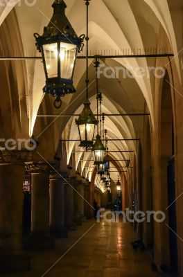 Archway in Krakow